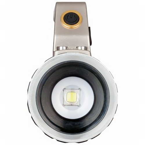 1000 Lumen Rechargeable LED Spotlight With Adjustable Beam