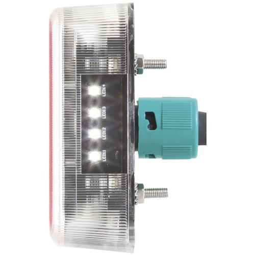 avs led tail light wiring diagram techlight 12v led trailer light kit wiring (stop / turn ... 12v led tail light wiring #5