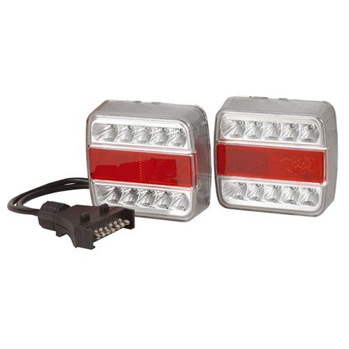 12v led trailer light kit with wiring (stop / turn / tail ... 12v led stop light wiring diagram
