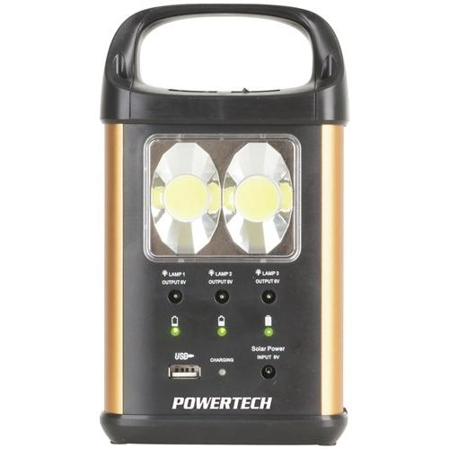 Powertech Solar LED Light Kit 3 x 3W